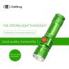 Телескопический светодиодный алюминиевый фонарик T6 zoom light T6 фонарик USB зарядка мини маленький фонарик