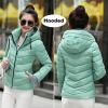 зимой пиджак женщины парка толщина зимнюю одежду плюс размер на пальто короткий слим дизайн Cotton-padded Jackets and Coat