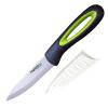 Лезвие (MYCERA) 4 дюйма керамический нож красоты фарфор ребенка пищевая добавка фруктов нож нож (черный и зеленый) SZR4F добавка 5 букв