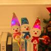 Эва Лав Снеговик Рождественский подарок красочные светящиеся палочки свет палочки игрушки для детей куклы палку