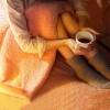 Jiuzhou олени кашемировых одеяла двойного толщина одеяла текстильных зимнее двойные одеяла кораллового ковер ковер 220 * 240см