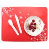 Силиконовые салфетки, Pattern Table Mat Водонепроницаемый Kids Placemat Устойчивый силиконовый коврик для кухонного обеденного стола (цвет Ramdon)