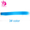 Fashion hair extension for women Long Synthetic Clip In Extensions Straight Hair piece Party Highlight Punk Cosplay Colorful cosplay party cat fox long fur ears neko costume hair clip halloween orecchiette y103