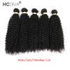 HCDIVA Человеческие волосы Перуанские девственные кудрявые вьющиеся волосы 5 комплектов / серия Природные черные Дешевые оптовая цена Горячая продажа Kinky Curl Weave брюки горнолыжные rip curl rip curl ri027emzlc69