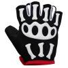 Sipa от (spakct) COOL006 костяшки велосипед езда перчатки перчатки Mitt скелет белый XL код spakct cool006 knuckle riding cycling gloves black white red xl 21cm