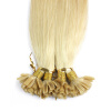 1g/s 100g Human Remy Hair Black Ash Brown Platinum Blonde Straight Custom Capsule Keratin Nail U-tip Fusion Hair Extensions 10 pieces 20 remy tape hair extensions 16 ash blonde