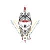 Gernro Индийские серии Значки на рюкзак Значки для одежды Значок Pin значки spikes значок