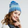 LACKPARD Женская мода Зимняя шляпа Вязаная теплая шляпа Открытый лыжный колпачок Бренд Hat lackpard женская мода зимняя шляпа вязаная теплая шляпа открытый лыжный колпачок бренд hat