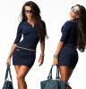 Lovaru ™2 015 горячей продажи ниже цены платье Новая мода элегантные мини-платья мода платья женщин, сексуальный леди рабочий платья платья vay платья