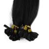 1g/s 100g Human Remy Hair Black Ash Brown Platinum Blonde Straight Custom Capsule Keratin Nail U-tip Fusion Hair Extensions ламинатор gbc fusion 1000l a4 black
