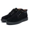 досуг и модные короткие сапоги, тепло и вырез, мужские ботинки