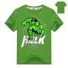 Футболки-майки Captain America и Hulk Pattern Футболки с коротким рукавом Хлопковые мстители мальчики одевают детские майки 2-11Y майки