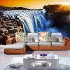 3D обои настенные обои Природный ландшафт Большие речные водопады Пользовательские 3D-обои для фото Papel Parede Sala Rolo Home Improvement речные приключения