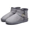 досуг и вырез с пряжкой, с бархатной сапоги, мужские ботинки