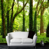 3D-пейзажная стена Mural Forest Photo Wallpaper Custom Wall Paper Natural Murals Papel De Parede Постельное белье Room Sofa TV Backdrop modern luxury wallpaper 3d wall mural papel de parede floral photo wall paper ceiling murals photo wallpaper papier peint behang