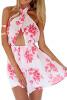 Lovaru ™2015 Новая мода горячей продажи Весна лето женщин сексуальный печати Party Club платье Винтаж цифровой Повседневные платья лето стиль egga весна лето 2017