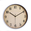 Metal wall clock simple clock silent quartz movement watch for bedroom living room 12 inches 30CM living room diy football sport clock wall sticker
