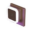 Управление световым датчиком LED ночной свет mini EU US штепсель новинка квадратная Лампа для спальни для спальни