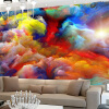 Высокое качество Custom Wall Mural 3D Color Clouds Абстрактное искусство Гостиная Фоновая фотография Обои Домашний декор Papel De Parede custom tree bark textures wallpaper restaurant living room tv sofa wall background children bedroom 3d mural papel de parede