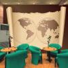 Фото обои карта мира ретро ностальгия обои живая студия фоном кабинет комната декоративная настенная живопись обои настенная роспись казань настенная карта