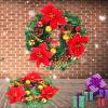 Могут ли фиолетовый рождественские украшения Рождественские украшения подарка красочные гирлянды
