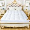 Hongrun элегантный текстиль хлопок ребенка матрас матрас матрас 50% белый гусь татами проницаемой постельные принадлежности вниз к югу кровати Кровать матрасы применяется 1,5 м