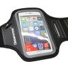 Bowonike версия сенсорного экрана мобильного телефона мешок пакет рука работает рука спорт повязка мобильного телефона рука запястье мешок большой серый пиджак
