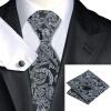 n-0822 Vogue мужчин шелковым галстуком набор серый новинка галстук платок запонки установить связи для мужчин официальный свадебный бизнес оптом новинка