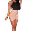 Lovaru ™2015 сексуальные тела короткие платья O-Шея спагетти ремень спинки мини оболочка женщин вскользь платье клуб платье вечера партии