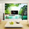 Пользовательская 3d-роспись Большие 3D обои роспись гостиной диван спальня телевизор фон обои пейзаж пейзаж обои роспись