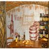На заказ 3D-роспись ретро красное вино дерево обои отдых винодельня ресторан кафе бар прохода обои настенная роспись на заказ 3d роспись бар ресторан ресторан кафе фон ретро 3d американо граффити роспись