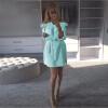 Lovaru ™ Женская одежда Осеннее платье Модные платья Vintage Puff Pin up Loose Party Beach Mini Dresses дамы