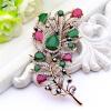 Изысканный турецкий цветок женщин брошь Pin Vintage перо дизайн смолы ювелирные шпильки антикварные золотые цветные броши броши бр броши honey jewelry брошь райский сад зеленая