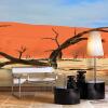 Пользовательские фото Mural Нетканые обои для стен Мертвые ветви Пустынные пейзажи настенные картины Papel De Pared 3D Mural Wall Paper цена