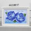 DIY 5D Diamonds Вышивка Фиолетовый Красный Синий Розовый Волшебный куб Круглый Алмазная живопись Наборы для вышивки крестом Алмазная мозаика алмазная вышивка картина стразами кустовая роза алмазная живопись аж 1249