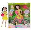 Abbie Lens Eyes with 3D Curl Eyelashes Doll Toys Clothes Gown Outfits and Shoes for Girl's Birthday Party Christmas Gift fairy tale dress princess clothing copy brave merida long sleeve clothes for barbie doll 11 5 12 puppet girl toys gift