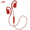 JVC (JVC) HA-EC600BT уха Bluetooth беспроводной мобильный телефон гарнитуры рожок гарнитуры спортивный красный jvc jvc ha ec600bt bluetooth телефон уха гарнитуры рожок гарнитуры спортивный беспроводной черный