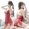 Кошки cupidcat горячих ремней сексуальных нижнего белья полой кружевные пижамы сорочка двухсекционного красная богемные yeni я yeniya немного красный кружевные стринги d4114 размер