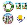 Bestway Дисней Дисней детский купальный костюм (+ рука круг плавать кольцо + пляжный мяч, поставляется с воздушным насосом, подходит для детей 3-6 лет начинающего плавания, играя в использовании воды) счетчики воды на 6 лет в спб