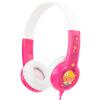 BUDDYPHONES Стандартный выучить английский язык детские музыкальные наушники гарнитуры слабослышащих детей, чтобы защитить студентов милый розовый подарок на день рождения