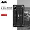 UAG iPhone Х (5,8 дюйма) падение сопротивления сотовый телефон оболочки / защитный рукав отличается серии ограниченным тиражом благородного черного кевлара сотовый