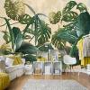 Обои для рабочего стола Tropical Rain forest Palm Banana Leaf Large Murals Обои для стен Обои для гостиной Декорация 3D для гостиной