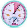 Yuhua Ze (Yuhuaze) детская комната мультфильм большой циферблат гигрометр настольный термометр / гигрометр синий гигрометр психометрический в отрадном районе