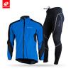 NUCKILY Мужская одежда высокого качества Велоспорт Одежда Водонепроницаемость ветрозащитная верховая композитная флисовая куртка