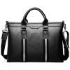 P.kuone® марка мужчины портфель подлинные сумки кожа бизнес кожаная сумка для ноутбука портфель плечо мужские посланник Сумки мужские сумки