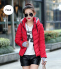2017 Winter Jacket Women Parka Thick Winter Outerwear Plus Size Down Coat Short Slim Design Cotton-padded Jackets and Coats double side silver transparent case fashion business wrist watch skeleton automatic men watch