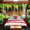 Пользовательские обои Mural Нетканые настенные украшения Гостиная Диван Спальня Фон Обои Обои Бумага 3D Пейзаж Водопад пользовательские обои фрески 3d hd лесной рок водопад фотография фон стена картина гостиная диван фото mural обои