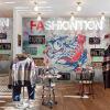 Обои для рабочего стола Граффити-стрит обои магазин одежды случайный бар