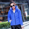 2017 Winter Jacket Women Parka Thick Winter Outerwear Plus Size Down Coat Short Slim Design Cotton-padded Jackets and Coats cartoon girls winter coat fleeced hooded duck down jacket for girl children outerwear winter jackets coats lske099