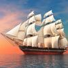 Пользовательские 3D Mural обои Smooth Sailing Sea Landscape HD TV Фон Украшение Картина Настенные обои Home Decor Living Room картина farm landscape